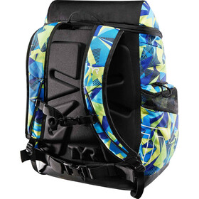 TYR Alliance Geo Print Backpack 45L, blue/green